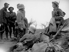 """The 1914 Christamas """"Truce"""" on the front - WW1"""