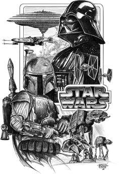 iphone wallpaper stars son-of-dathomir: by Rob Duenas Star Wars Fan Art, T-shirt Star Wars, Images Star Wars, Star Wars Pictures, Star Wars Tattoo, Star Tattoos, Cadeau Star Wars, Star Wars Zeichnungen, Cuadros Star Wars