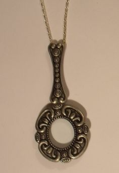 Vintage Style Magnifying Glass Charm/Pendant by JENSTARDESIGNS, $29.99