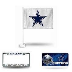 Dallas Cowboys NFL 3 Piece Auto Fan Pack