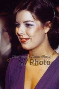 Princess Caroline of Monaco at 18th Gala Horse at Hippodrome de la Porte de Pantin in Paris.January 9,1976.