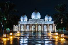 Opini n de la tarde la Gran Mezquita Sheikh Zayed el 5 de noviembre de 2013 de…