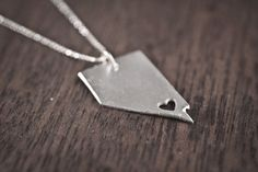 I heart Nevada necklace! Most perfect necklace because I am in Loveeeee with a SIN CITY booyyyyy!!!