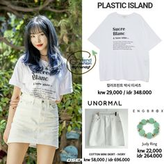 Brand Names, Idol, Fashion Outfits, Crop Tops, Skirts, Cotton, Clothes, Women, Style