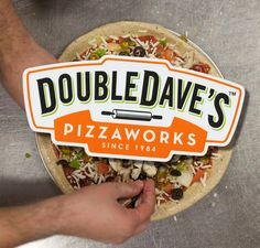 Double Dave's pizzaworks sticker