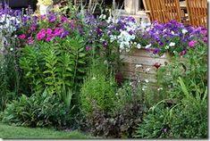 Blomsterkasser med undervanning   Nå skal ikke jeg påberope meg å ha laget disse kassene (snekkerkunnskapene strekker nok ikke til), men ... Gardening, Tips, Plants, Patio, Garden, Lawn And Garden, Planters, Plant, Yard Landscaping