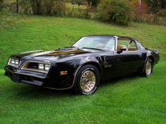 My favorite Muscle Car. 1977 Smokey and the Bandit Trans Am