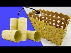 Toilet Roll Craft, Toilet Paper Roll Art, Toilet Paper Roll Crafts, Paper Crafts For Kids, Cardboard Crafts, Diy Paper, Upcycled Crafts, Diy Home Crafts, Fun Crafts