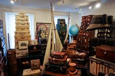 Antique and Vintage Trunks Suitcases and Luggage