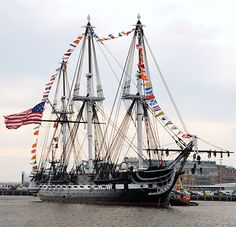BOSTON (Oct. 21, 2010) USS Constitution returns to her pier after an underway to celebrate her 213th launching day anniversary. (U.S. Navy photo by Mass Communication Specialist 3rd Class Kathryn E. Macdonald/Released)