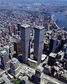 Twin Tower's WTC, New York City, 1966-2001