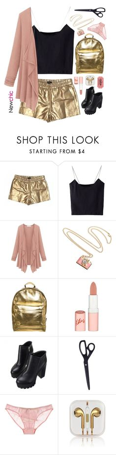 """""""NewChic 18"""" by blonde-scorpio-xo ❤ liked on Polyvore featuring J.Crew, Mi-Pac, Rimmel, HAY, ELSE and iTouch"""