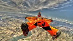 Backflying over Skydive Chelan