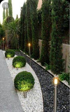 Fantastic Flower Landscape Design Ideas For Front Yard 31 Best Picture For Garden Types ideas For Yo Flower Landscape, Garden Landscape Design, Creative Landscape, Landscaping With Rocks, Backyard Landscaping, Landscaping Ideas, Backyard Ideas, Fence Ideas, Landscape Lighting