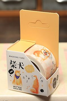 This is very cute self-adhesive masking paper tape, perfect for scrapbooking, decoration, or any oth…