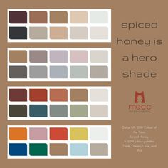 spiced honey is a hero shade Dulux Paint Colour Of The Year, Color Of The Year, Color Pick, Paint Brands, Color Trends, Design Trends, Powder Pink, The Conjuring, Botanical Prints