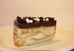 Tarta rápida de chocolate blanco