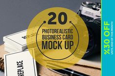 Check out Business Card Mock Ups by Mockup Zone on Creative Market