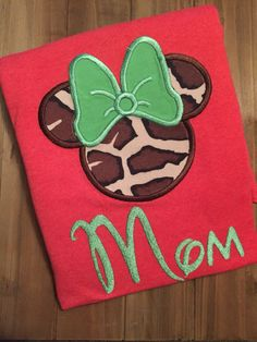 A personal favorite from my Etsy shop https://www.etsy.com/listing/468081591/minnie-mouse-vacation-shirts