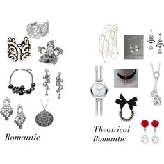 """True Winter Jewelry 2 Romantics"" by christinems on Polyvore"