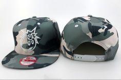 600b16611c6 The Hundreds Adam Bomb Snapback Hats Camo New Era fifity 5934