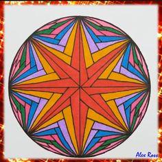Doodle Art Drawing, Zentangle Drawings, Mandala Drawing, Zentangles, Art Drawings Sketches Simple, Pencil Art Drawings, Mandala Art Lesson, Doodle Art Designs, Illusion Art