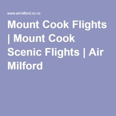 Our Mount Cook flights take you up close and personal with New Zealand's largest mountain, giving you panoramic views of the geological structure. Mount Cook Scenic flights are an unforgettable experience. Mount Cook, Cooking, Kitchen, Brewing, Cuisine, Cook