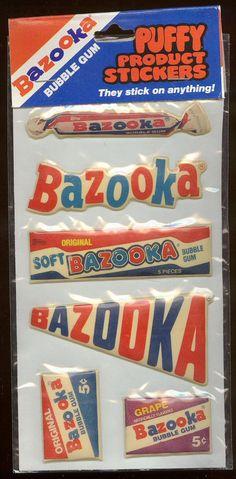 Bazooka Bubble Gum by Waffle Whiffer, via Flickr