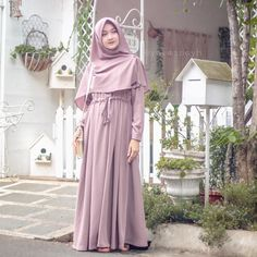 Hijab Style Dress, Hijab Outfit, Hijab Gown, Hijab Chic, Dress Outfits, Muslimah Clothing, Moslem Fashion, Hijab Style Tutorial, Mode Abaya
