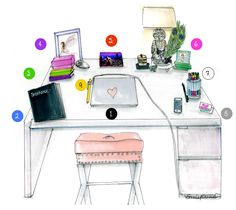feng shui for office desk