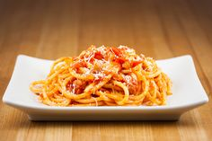 This typically Roman pasta dish was traditionally made with guanciale, but since that ingredient used to be very hard to find outside of Italy, and the Lazio region in particular, pancetta has became a common substitute. This is changing and guanciale can now be found at certain specialty food stores here in America. While you …