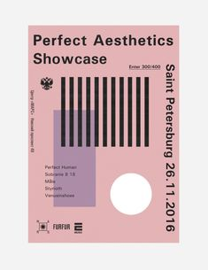 vladislavsontos:    Perfect Aesthetics Showcase poster 2016  by...