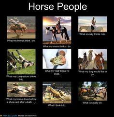 Horse People Interpretations