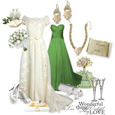 """Weddings with lia sophia jewelry"" by kellie-debrandt-mescher on Polyvore"