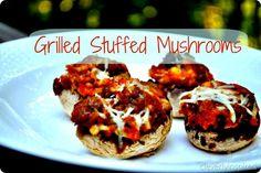 grilled stuffed mushroom recipe