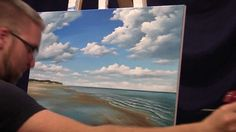 So inspiring!!! Love Marc Doiron's work!  Time lapse painting (Tides out)