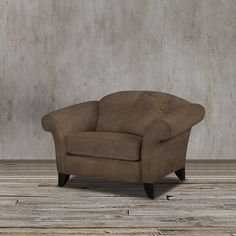 This plush armchair exudes a transitional-style frame design, brown velvet upholstery, flared arms and amazing value into one perfect package to get the stylish design and durable decor you deserve.