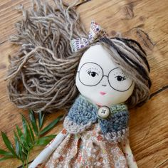 Fabric doll by Doricica Dolls IG