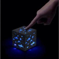 Diamond ore lamp