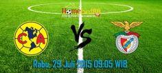 Prediksi Club America vs Benfica 29 Juli 2015