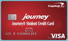 The basic idea of the Journey Student Rewards from Capital One may sound like an ideal student credit card, but this credit card has some pretty amazing features. Capital One offers a variety of rewards for college students including cash... Build Credit, Credit Score, Facebook Image Sizes, Capital One Credit Card, Credit Card Benefits, Student Rewards, Delete Facebook, Credit Card Application, Rewards Credit Cards
