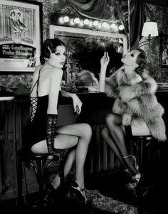 Backstage burlesque- courtesy of rockabilly pinups