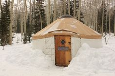 Bunchgrass Yurt in Logan Canyon - 4 mile hike to get to the yurt. $100/weeknight, $150/weekend