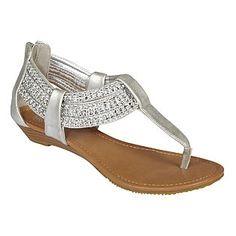 Women's Sandal Zirconia - Silver