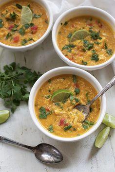14. Thai Chicken and Butternut Soup #paleo #crockpot #recipes http://greatist.com/eat/paleo-crock-pot-recipes