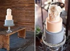 dusty blue and blush wedding - - Yahoo Image Search Results