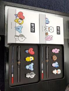 I really want these for free they are so cute ! Mochila Kpop, Mochila Do Bts, Photo Kawaii, Bts Doll, Bts Makeup, Bts Clothing, Line Friends, Kpop Merch, Bts Chibi