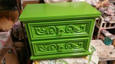 SOLD Painted Nightstand Painted Furniture