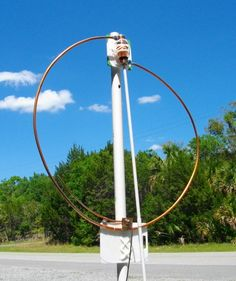 4 Foot Magnetic Loop Antenna with Gamma Match