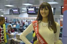 LeMagazine Shinymenvous présente les photos du Départ De Miss Tunisie 2014, Wahiba Arres,à l'élection deMiss Mondeorganisée le 14décembreà Londres (Grande-Bretagne).